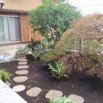 お庭造り (2)
