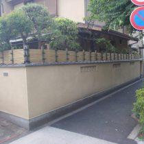 垣根設置 (3)